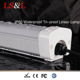 A lente energy-saving IP65 de Forsted Waterproof a lâmpada linear da Tri-Prova