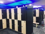 Горячий продавая двойной шкаф локера хранения ярусов (JS38-2)