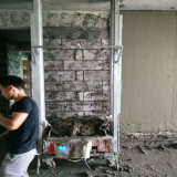 Machine de pulvérisation de jet de la colle de mastic de rendu de machine de plâtre de mastic de mortier de mur à vendre