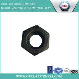 Tuerca Hex pesada de ASTM A194 2h con final negro