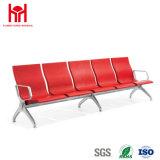 편리한 검정 5 Seaters PU public 의자