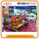Машина делать кирпича гидравлического давления двигателя дизеля Qm4-45 конкретная
