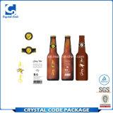 Contrassegno impermeabile smontabile dell'autoadesivo della bottiglia da birra