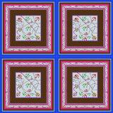 Шарф Ханчжоу 100%Silk печати геометрии квадратный