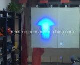 セリウムの工場からの10Wの青か赤い矢のビームフォークリフトの警報灯
