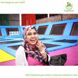Vervaardiging van het Park van de Trampoline van de Hoogste Kwaliteit van het dromenland de Grote Binnen Commerciële