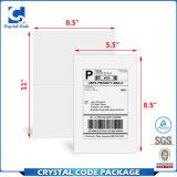 A4 het Zelfklevende Etiket van de Sticker van het Document Verschepende (8.5*11)