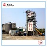 최신 혼합은 중국 경험이 많던 제조자에 의하여 80 T/H 아스팔트 플랜트를 가진 도로 공사를 위한 모터를 꿰맨다