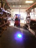 10W 10-80V DCの青い点ポイントライトフォークリフトの警報灯