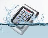 Metall imprägniern zwei unabhängige 13.56MHz MIFARE Tastaturblock-Zugriffssteuerung der Relais-