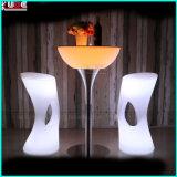 Установите настроение осветите вверх стул штанги табуреток изменяя штанги цвета