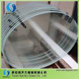Vidro Tempered extremamente branco de Shandong 6mm densamente
