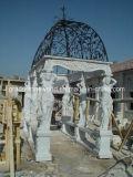 Pabellón, Pabellón de piedra, mármol Pabellón Gazebo (GS-G-043)
