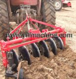 Rotary-Driven Disc Plough