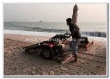 Venda do equipamento da limpeza da praia em Ámérica do Sul
