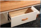 居間の家具のための簡単な純木のコーヒーテーブル