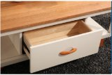 Mesa de centro simples da madeira contínua para a mobília da sala de visitas