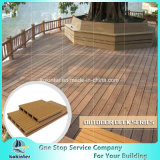 Прессованная проектированная материальная древесина технологии штрангя-прессовани & пластичный составной напольный Decking