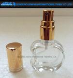 10ml Container van het Parfum van het Glas van de Spuitbus van de Vorm van de appel de Duidelijke