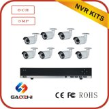 8CH Poe NVR 3MP IP Camera Kits