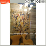 Stampa del Silkscreen della vernice di alta qualità 3-19mm Digitahi/incissione all'acquaforte acida/sicurezza reticolo/glassato temperata/vetro temperato per la parete/pavimento/divisorio domestici con SGCC/Ce&CCC&ISO