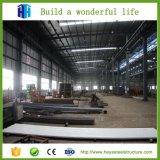 Estructura de acero del almacén prefabricado que construye la vertiente industrial