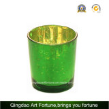 Metallo Lid Glass Candle Container per Votive Candle