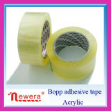 O uso acrílico BOPP da selagem do adesivo e da caixa cancela a fita da embalagem