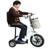 Vespa eléctrica mayor y de los minusválidos barata del asiento ajustable de la movilidad