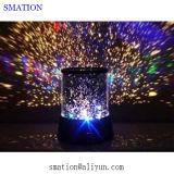 3D الإسقاط مصباح LED لمبة Lazor داخلي ندفة الثلج أضواء الليزر