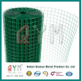 Rodillo soldado jaula galvanizado cubierto PVC del acoplamiento de alambre del conejo