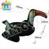 De opblaasbare Drijvende Vlotter van de Pool van de Vogel van Pegasus van de Zwaan van de Doughnut Grote