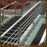 De corrosiebestendige OpenluchtLeuning van de Trede van het Traliewerk van de Trap van het Roestvrij staal (sj-H1028)