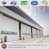 Große Überspannungs-Stahlkonstruktion-Hangar für Flugzeug-Pflege