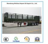Fuwa 3개의 차축을%s 가진 실용적인 반 말뚝 담 트레일러 40 톤