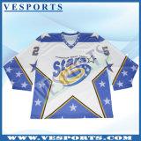 Crear el hockey de secado rápido Jersey del poliester para requisitos particulares