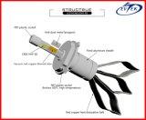 O CREE lasca bulbos 6000k do farol do farol R3 do diodo emissor de luz de 40W 4800lm H4 os auto