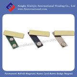 Ímã magnético permanente do emblema conhecido de cartão conhecido de NdFeB