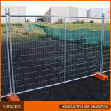 具体的なベースが付いている2.4X2.1mの一時塀およびオーストラリアのためのクランプ
