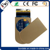 Bañera de soporte de plástico ventas de tarjetas de crédito RFID para tarjetas de identidad
