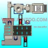 Cabina de la capa del polvo del alto rendimiento con pintar (con vaporizador) automático