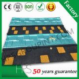Material de construcción galvanizado hoja del azulejo de la piedra de la hoja de acero del material para techos