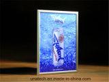 LED 실내 클럽 바 알루미늄 스냅 매체 간판 매우 경미한 가벼운 상자