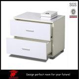Отраженная белая деревянная таблица стороны софы стола офиса Nightstand