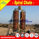 Тяжелое сила тяжести штуфа Zircon песка минералов одевая сепаратор оборудования спиральн