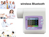 Bluetooth/Wireless Certificato-Handheld CE Digital Lung Spirometer Telemedicine su Sale!