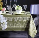 "Hotel Table Cloth (parte do poliéster tingida, yarn-dyed, jacquard, largura 60 "" - 126 "")"