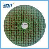 T41는 스테인리스 절단 바퀴 107mm 녹색을%s 절단 디스크를 엷게 한다