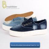 Помытая обувь платформы Jean для женщин с выбитый хитрить