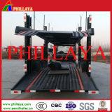 2つの床は車軸自動車運搬船のトレーラーを倍増する